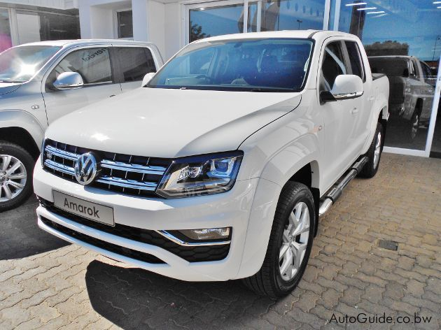 Pre-owned Volkswagen Amarok BITDI for sale in
