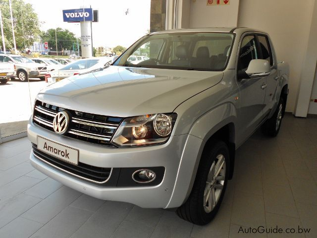 Pre-owned Volkswagen Amarok 2.0Bitdi 4x2 A/T Double Cab for sale in Gaborone