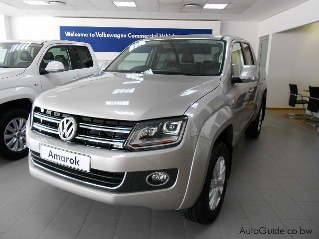 Pre-owned Volkswagen Amarok Highline 2.0BitDi 4 Motion M/T  for sale in Gaborone