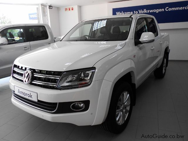 Pre-owned Volkswagen Amarok Highline 2.0 BitDi 4-Motion M/T  for sale in Gaborone