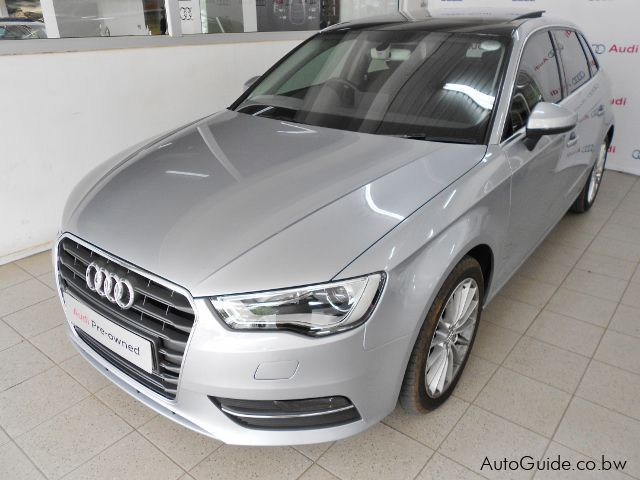 Used Audi A3 Sportback S-tronic for sale in Gaborone