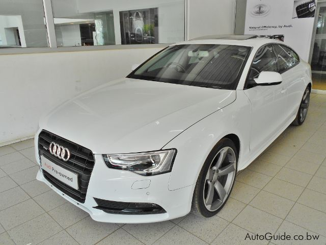 Used Audi A5 for sale in Gaborone