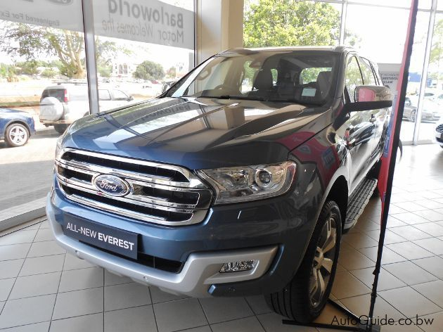 Pre-owned Ford Everest LTD for sale in Gaborone