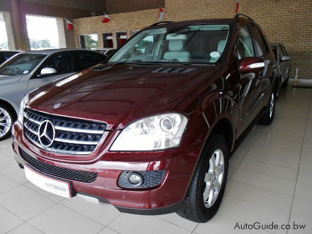 Used Mercedes-Benz ML350 for sale in Gaborone