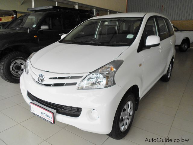 Used Toyota Avanza SX for sale in Gaborone