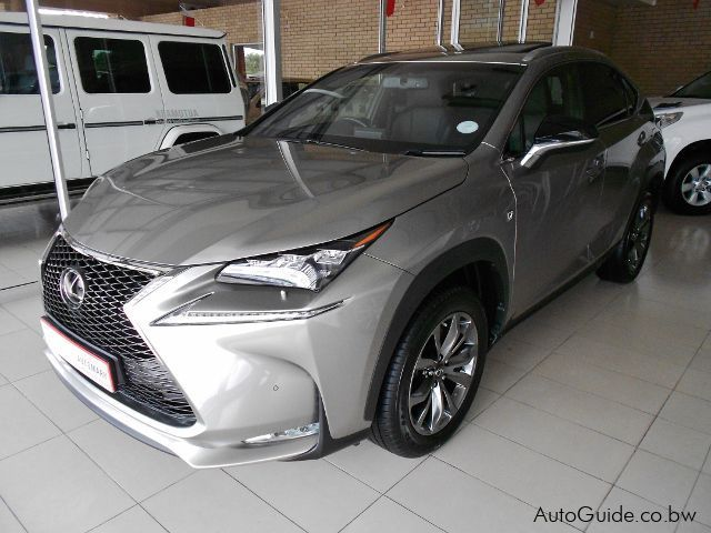 Pre-owned Lexus NX200 T Sport for sale in Gaborone