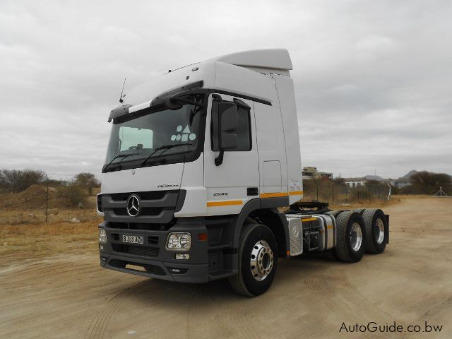 Used Mercedes-Benz Actros 26 for sale in Gaborone