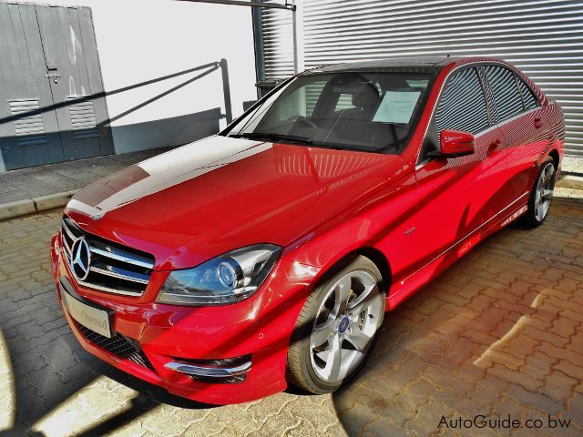 Used Mercedes-Benz C200CGI for sale in Gaborone