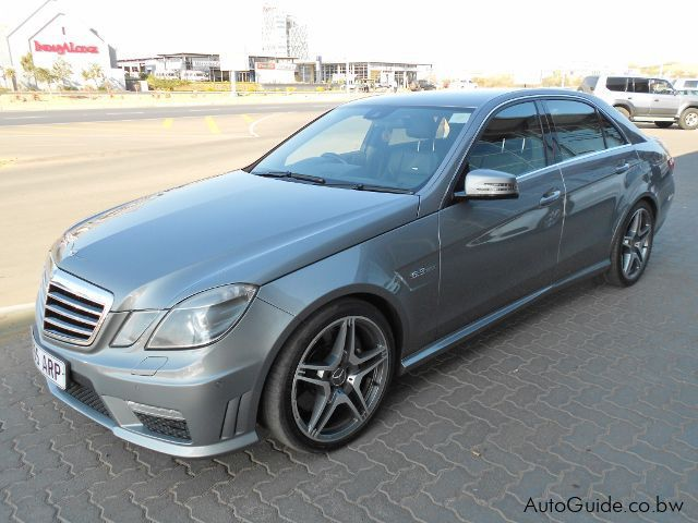 Used Mercedes-Benz E63 AMG for sale in Gaborone
