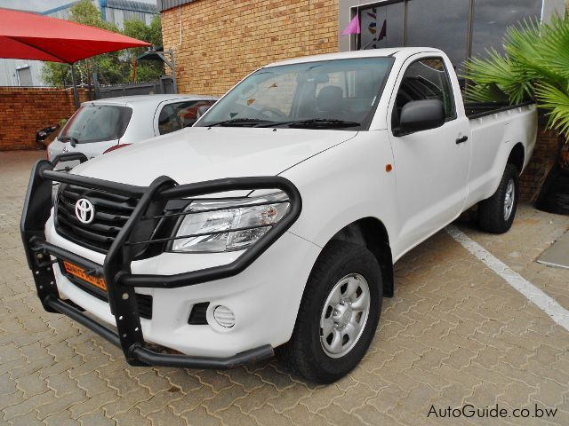 Used Toyota Hilux 4x4 SRX for sale in Gaborone