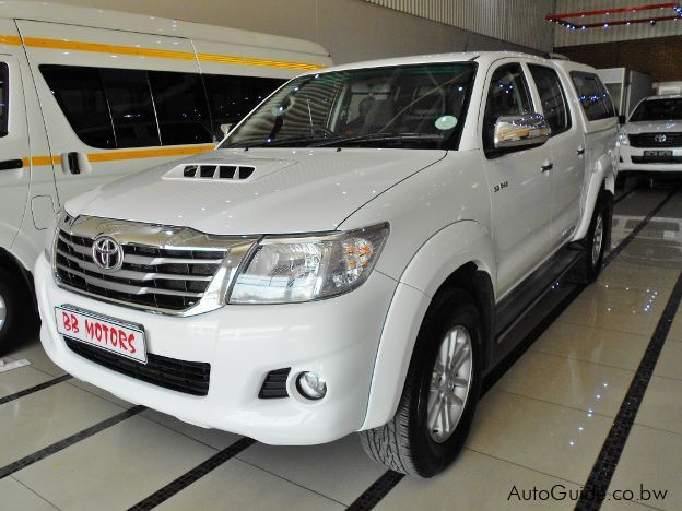 Pre-owned Toyota Hilux for sale in Gaborone