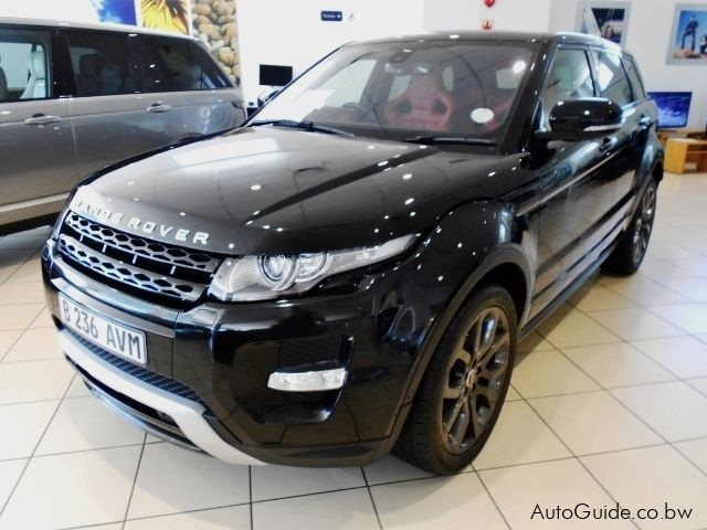 Pre-owned Land Rover Range Rover Evoque Si4 for sale in Gaborone