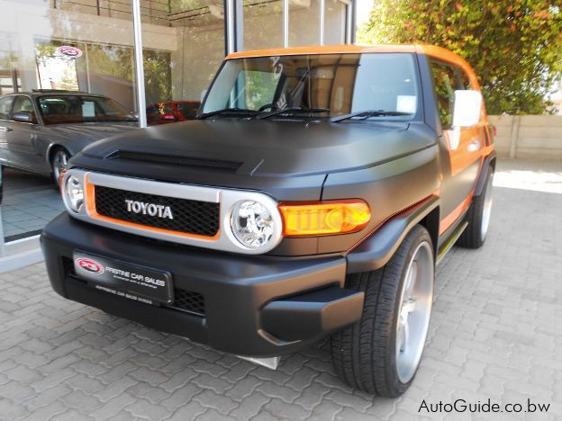 Used Toyota FJ Cruiser L/C Super Charge for sale in Gaborone