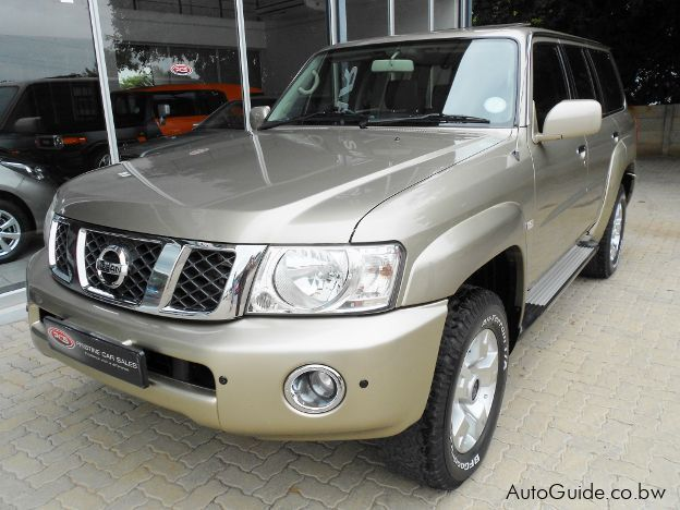 Pre-owned Nissan Patrol GRX for sale in Gaborone