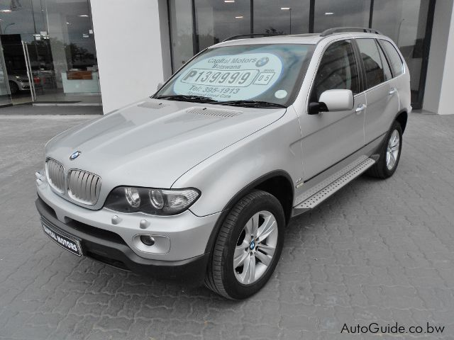 Used BMW X5 for sale in Gaborone