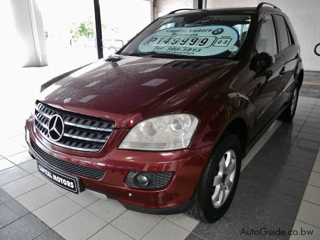 Pre-owned Mercedes-Benz ML 350 for sale in Gaborone
