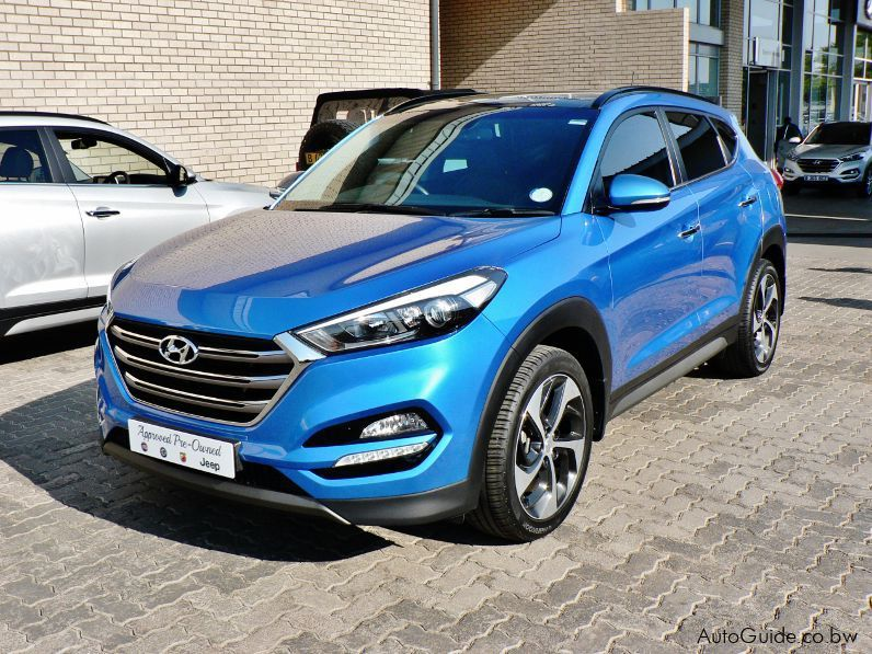Pre-owned Hyundai Tucson Elite TGDi DCT AWD for sale in