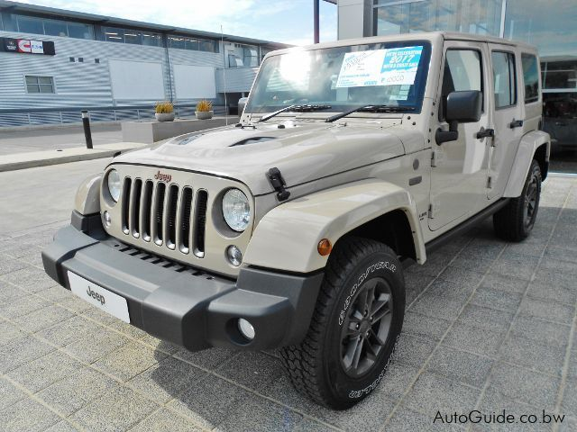 Pre-owned Jeep Wrangler Sahara 75 Anniversary Edition for sale in Gaborone