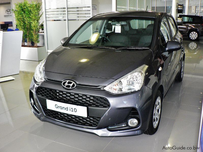 Pre-owned Hyundai i10 Grand Motion for sale in