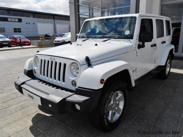 Pre-owned Jeep Wrangler Sahara Unlimited for sale in Gaborone
