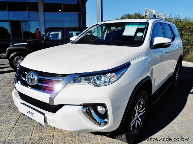 Pre-owned Toyota Fortuner GD-6 for sale in