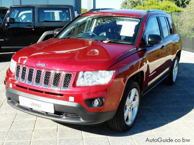 Pre-owned Jeep Compass CVT for sale in