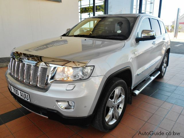 Pre-owned Jeep Grand Cherokee Overland for sale in Gaborone