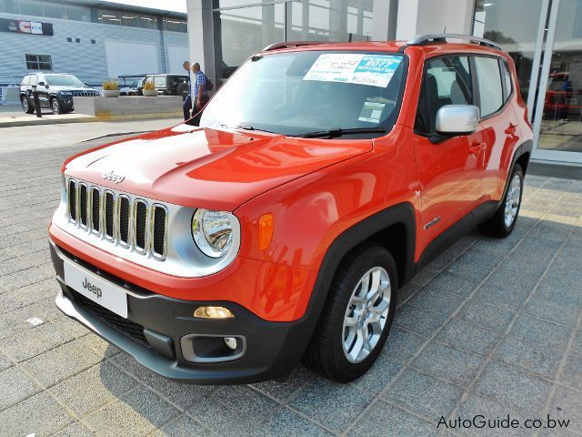 Pre-owned Jeep Renegade Limited Multi Air Turbo for sale in Gaborone