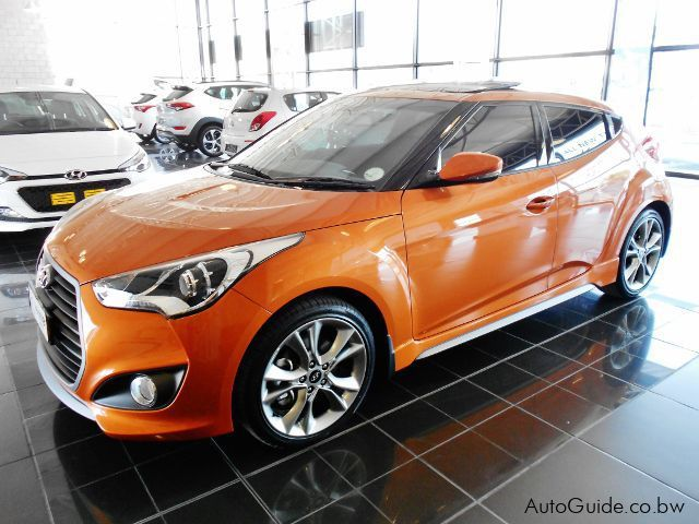 Pre-owned Hyundai Veloster Turbo DCT for sale in Gaborone