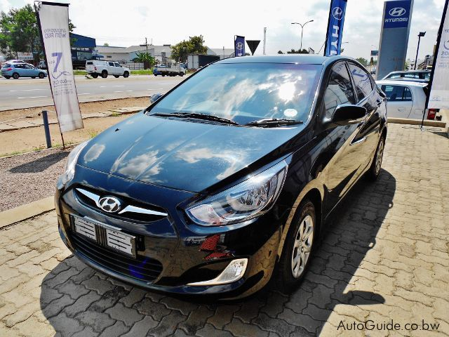 Used Hyundai Accent for sale in Gaborone