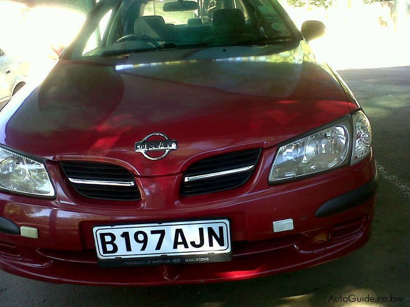Used Nissan Almera in Botswana