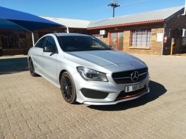Pre-owned Mercedes-Benz CLA 200 Orange Art Edition for sale in