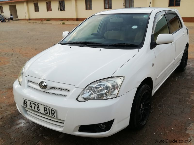 Pre-owned Toyota Corrola Runx Teardrop for sale in